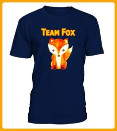 Team Fox Hipster Fox TShirt Cute Red Haired Animal Shirt - Fan shirts (*Partner-Link)