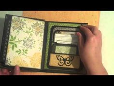 Envelope Mini (Kathy Orta Style) - YouTube Great take on Kathy Orta's mini envelope book.