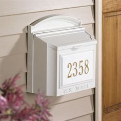 Check out the Whitehall 16139 Wall Mailbox in White