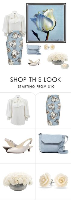"""simplicity"" by msdanasue ❤ liked on Polyvore featuring Alexander McQueen, River Island, Anne Klein, Day & Mood, NDI and Bling Jewelry"