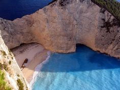 Navagio Beach, Greece. I want to swim there! #secluded #Greece