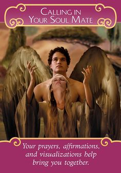 Oracle Card Calling Your Soul Mate | Doreen Virtue | official Angel Therapy Web site