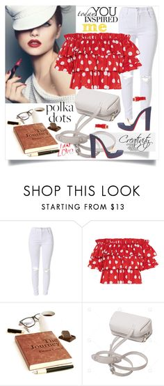 """""""So Dotty: Polka Dots"""" by creativity30 ❤ liked on Polyvore featuring Caroline Constas and Christian Louboutin"""