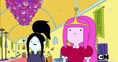 welcome to the slime kingdom Adventure Time Gif, Adventure Time Wallpaper, Adventure Time Marceline, Bubbline, Korrasami, Adveture Time, Marceline And Princess Bubblegum, Vampire Queen, A Series Of Unfortunate Events