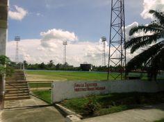 One of many baseball fields in Cuba. Photo taken by Brian Kaylor during a trip for the COEBAC's 40th anniversary celebration at Iglesia Bautista Enmanuel (Emmanuel Baptist Church) in Ciego de Ávila, Cuba.