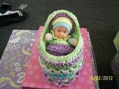 One of a kind Cradle Purse made to order. via Etsy.