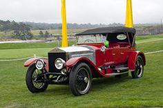 1914 Rolls-Royce Silver Ghost Alpine Eagle Portholme Torpedo