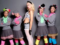 the best concept of all time ever. #harajukugirls