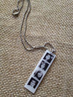 Photo shrinky dink necklace charm