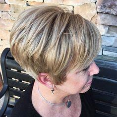 Short Bronde Hairstyle