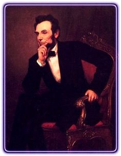 [16th] U.S. President Abraham LINCOLN: 1861 (03/04) ~ 1865 (04/15) / Party: Republican / Vice: Hamibal Hamlin; Andrew Johnson ♥______ Reposted by Dr. Veronica Lee, DNP (Depew/Buffalo, NY, US)