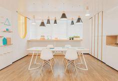 Architettura e design d'interni informale per A Warm Clinic in Cina - Elle Decor…