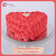 Valentine Cake, Valentine Heart, Valentines, Best Homemade Dog Food, Homemade Dog Treats, Chocolate Cream Cake, Birthday Cake Delivery, Online Cake Delivery, Heart Shaped Cakes