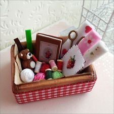 Arts and Crafts Handmade Doll House Miniature Set (polymer clay)