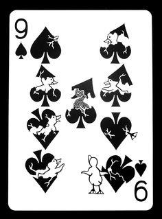 The Nine of Spades by Omegalpha.deviantart.com on @deviantART