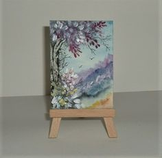 aceo miniature fantasy painting £3.50