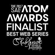 We are absolutely delighted to announce that Shakespeare Republic: #LoveTheBard (Season Two) is a Finalist in the 35th ATOM Awards and Nominee for Best Web Series!! Huge thanks to the judges, congratulations to our fellow nominees and congratulations team!  Long live the Bard!  #awards #finalist #nominee #nomination #bestwebseries #webseries #Melbourne #Victoria #Australia #atomawards #Shakespeare #shakespearelivesinmelbourne #shakespearelives #shakespearerepublic
