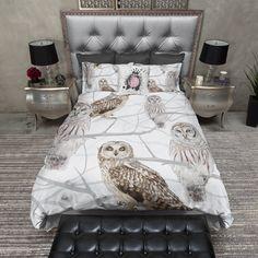 Snow Owl Duvet Bedding Sets