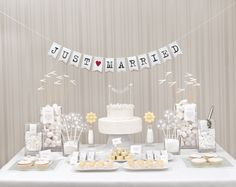 Candy-Bar: All White - weddingstyle.de