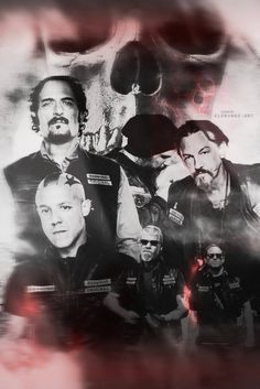 Fan art Sons of Anarchy #SonsofAnarchy #SAMCRO #MenofMayhem #RedwoodOriginal #ReaperCrew #SOA