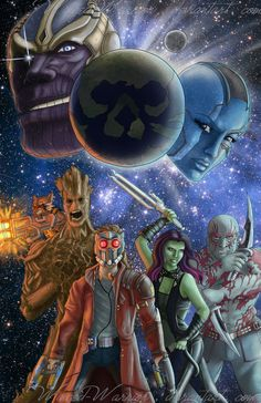 Guardians of the Galaxy by Winged-warrior on DeviantArt