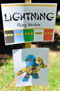 notsoperfectparties's Birthday / Ninjago - Photo Gallery at Catch My Party Ninja Birthday Parties, Birthday Party Games, Birthday Fun, Lego Parties, Birthday Ideas, Lego Ninjago, Ninjago Party, Lego Lego, Lego Batman