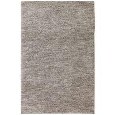 Mohawk Home Gray Black Rectangular Indoor Shag Area Rug (Common: 5 x 8; Actual: 60-in W x 96-in L x 0.5-ft Dia)
