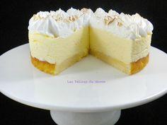 Gâteau nuage au citron meringué 3