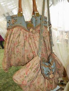 (via (1) cottage-ladydi: shabby french home | handbag ideas | Pinterest)