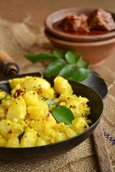 Kappa Ularthiyathu | Kerala Style Tapioca Fry | kurryleaves