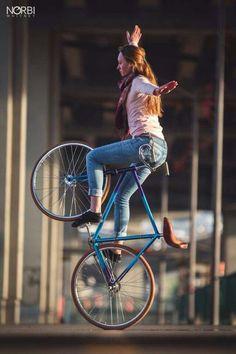 Bike & girl