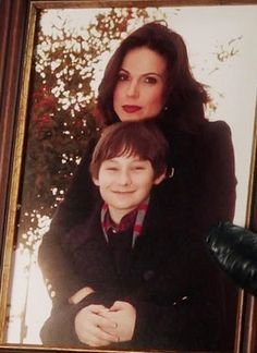 Mother and Son...Regina and Henry
