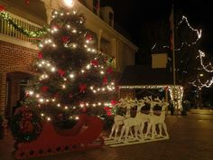 Christmas 2015. Town square.