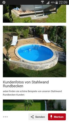 Pools, Gardens, Swiming Pool, Creative, Swimming Pools, Ponds, Water Feature