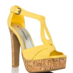 Gianna - Yellow by JustFab