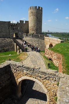Belgrade Fortress, Serbia, in Kalemegdan Park on the confluence of the Rivers Sava and Danube dates back to the 3rd century BC.