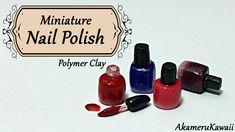 Miniature Nail Polish - Polymer clay tutorial