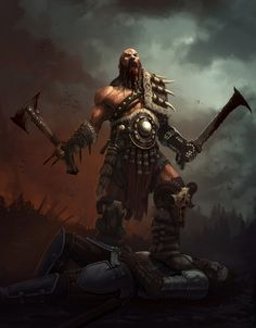 "Quarkmaster: "" barbarian jack frin "" viking warrior, d d characters, fantasy characters, Fantasy Warrior, Fantasy Male, Fantasy Rpg, Medieval Fantasy, Fantasy Artwork, Dark Fantasy, Arte Viking, Viking Art, Viking Warrior"