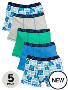 Ladybird Boys Mouth Trunks (5 Pack)