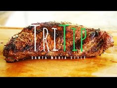 Tri Tip On A Santa Maria Grill | Technique I've Never Seen Before - YouTube Tri Tip Steak Recipes, New Cooking, Cooking Ideas, Tri Tip Sandwich, Santa Maria Grill, Smoked Brisket, Grilling, Bbq, Tips