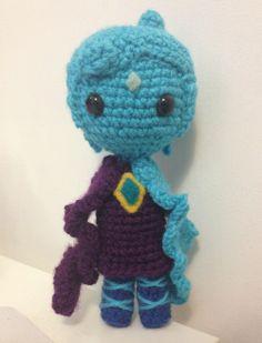 Amigurumi Crochet Fi; Legend of Zelda  thebhivecreations.com