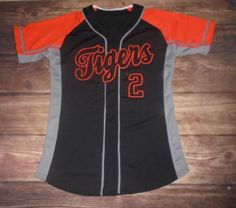 Have a look at this custom jersey designed by Tigers Baseball and created at Colorado Sports in Alamosa, CO! http://www.garbathletics.com/blog/tigers-baseball-custom-jersey-10/ Create your own custom uniforms at www.garbathletics.com!