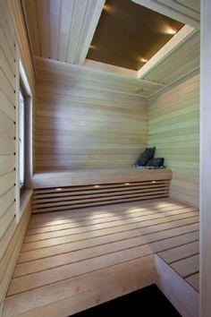 Sisustus - sauna - moderni tila