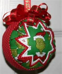 Christmas Ornament | Christmas Ornament, Quilted Christmas Ornaments ...