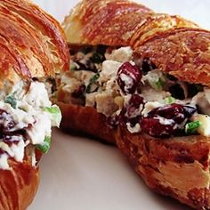 Deli-Style Cranberry Chicken Salad by ateaspoonofhappiness