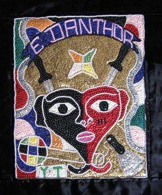 drapo vudu flag haiti by Teyacapan, via Flickr