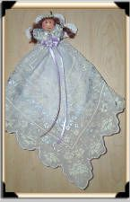 patterns for lace fabric angels | ... Fabric has a silver inlaid pattern. No two alike. Hangs by a satin