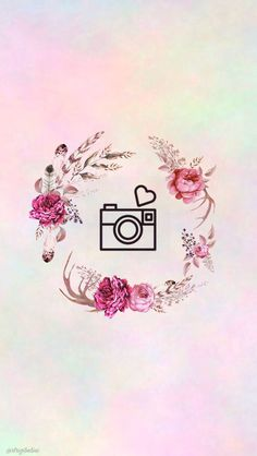 27 watercolor covers with flowers - Free Highlights covers for stories Instagram Movie, Pink Instagram, Instagram Frame, Instagram Logo, Instagram Design, Instagram Story, Cute Wallpapers, Wallpaper Backgrounds, Iphone Wallpaper