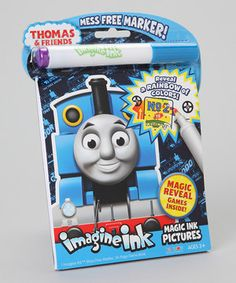 Look what I found on #zulily! Thomas Imagine Ink Mess-Free Game Book by Bendon Publishing International #zulilyfinds