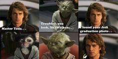 Funny pictures about Jedi Graduation Photo. Oh, and cool pics about Jedi Graduation Photo. Also, Jedi Graduation Photo photos. Star Wars Meme, Star Trek, Photo Star, Photo Pic, Mundo Geek, Yearbook Photos, Yearbook Ideas, School Photos, Film